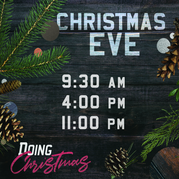 Join us for Christmas Eve...