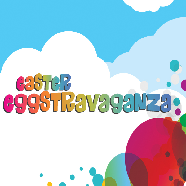 The Easter Eggstravaganza is coming up on  April 14th, 2:00-4:00 p.m.