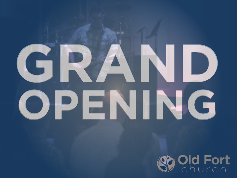 Grand Opening is tomorrow! Come on over and see us.