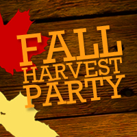 Harvest Party -- Sunday, October 29