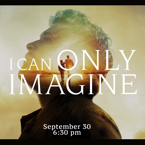 Movie Night! September 30, 6:30 p.m.
