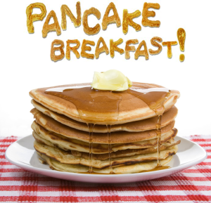 Pancake breakfast is back! THIS SUNDAY