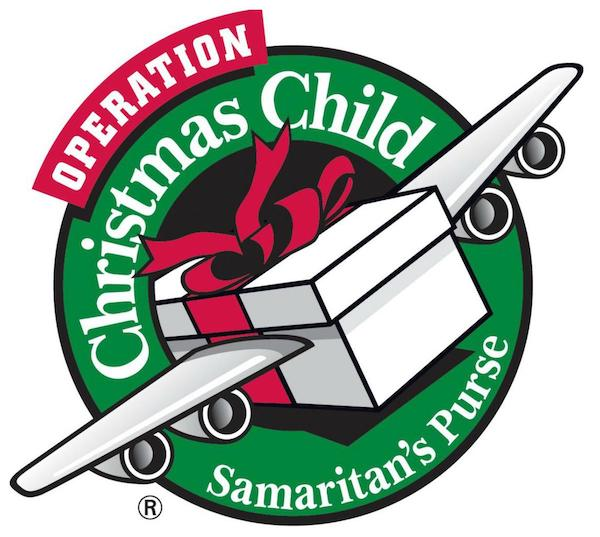 Drop off times for Operation Christmas Child